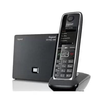 Gigaset C530A Go Telefono Cordless VoIP e analogico Vivavoce Segreteria