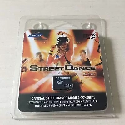 SAMSUNG STREET DANCE 3D 1GB MICRO SD CARD - OFFICIAL STREETDANCE MOBILE CONTENT