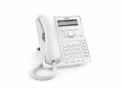 Snom 4381 D715 Analog telephone White Caller ID B/W display - LED function keys
