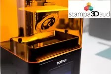 Stampante 3D Zortrax resina DLP ZORTRAX INKSPIRE 3D CON ULTRASONIC CLEANER