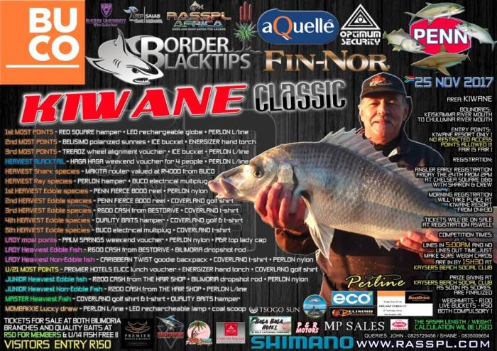 Border Blacktips Competition Poster