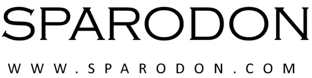 LOGO SPARODON LOGO NAME AND SITE ONLY