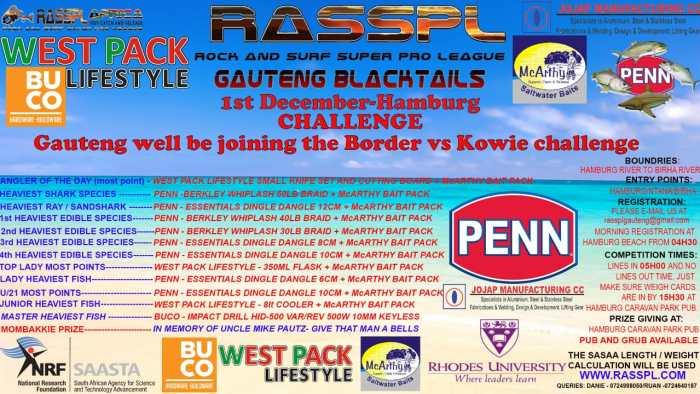 Gauteng Blacktails Competition Poster