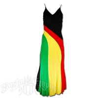 Rasta and Reggae Long Wave Dress