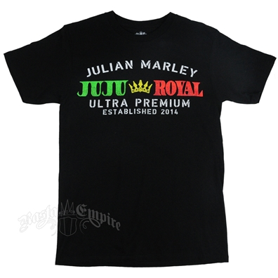 Julian Marley Rasta Juju Royal Black T-Shirt – Men's
