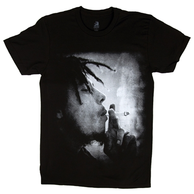 Bob Marley Mellow Mood Black T-Shirt - Men's