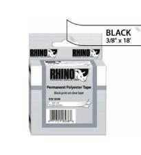 ETIKETA DYMO RHINO 9X5.5 BLACK