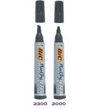 MARKER PERMANENT OBLI VRH BIC 2000 PLAVI 2mm