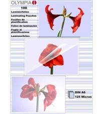 FOLIJA ZA LAMINATOR OLYMPIA A6 125MIC/100