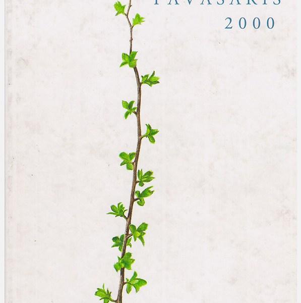 almanacho viršelis 2000