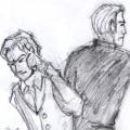 Charles Xavier/Erik Lehnsherr drawble for rosaw
