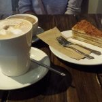 Sawmill Honey Cake and Coffee