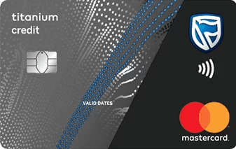 Standard Bank titanium credit card