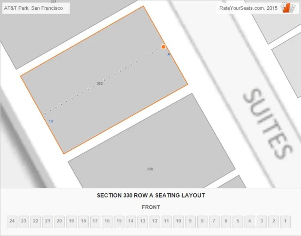 San Francisco Giants Seating Chart Seat Numbers  Brokeasshomecom
