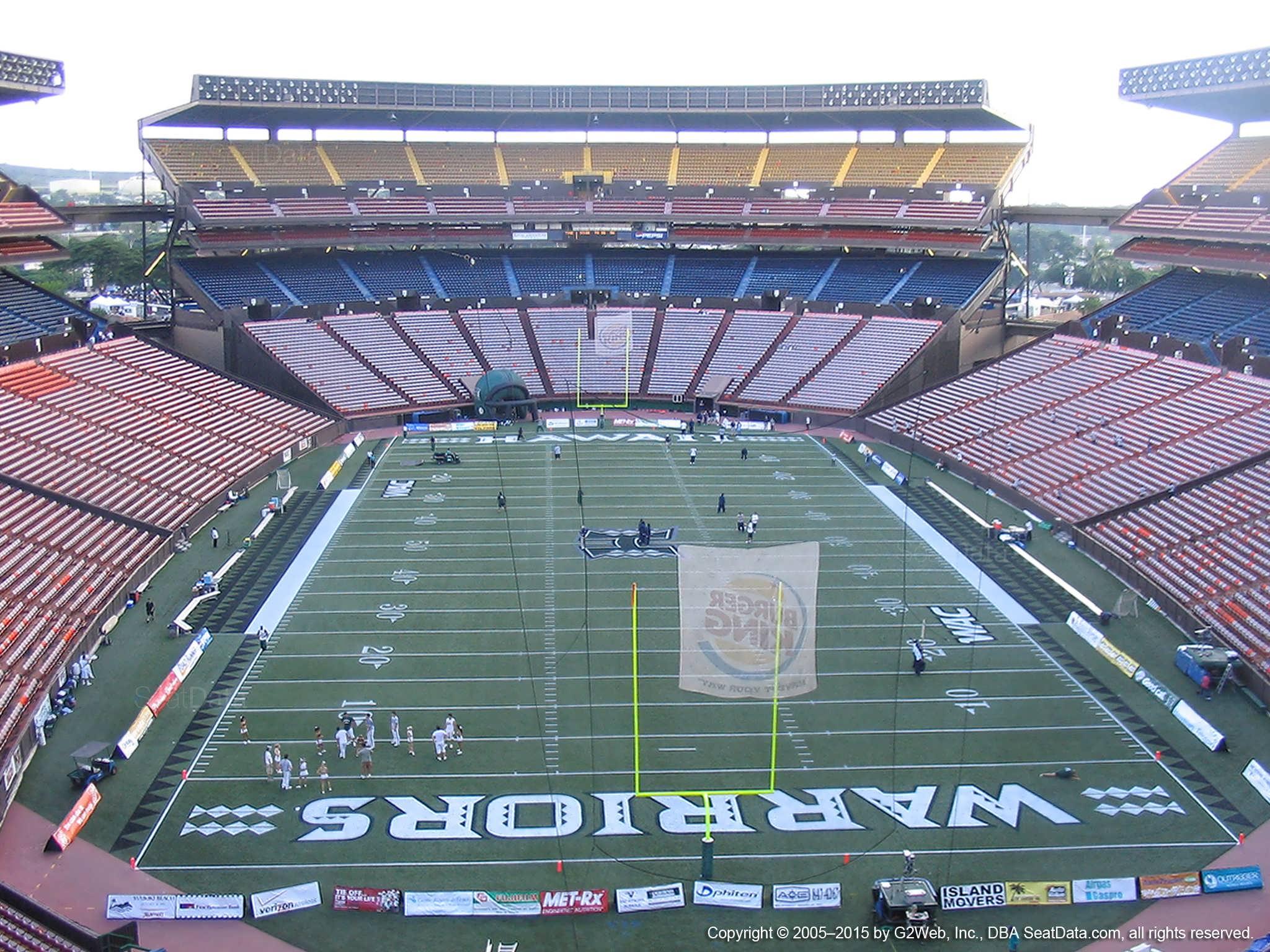Aloha Stadium Seating Chart Rows