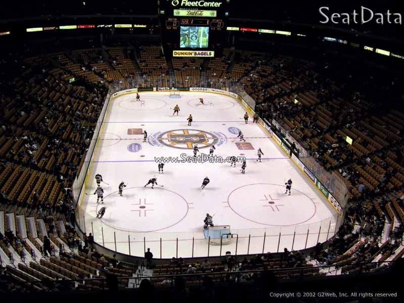 TD Garden Section 309 Boston Bruins