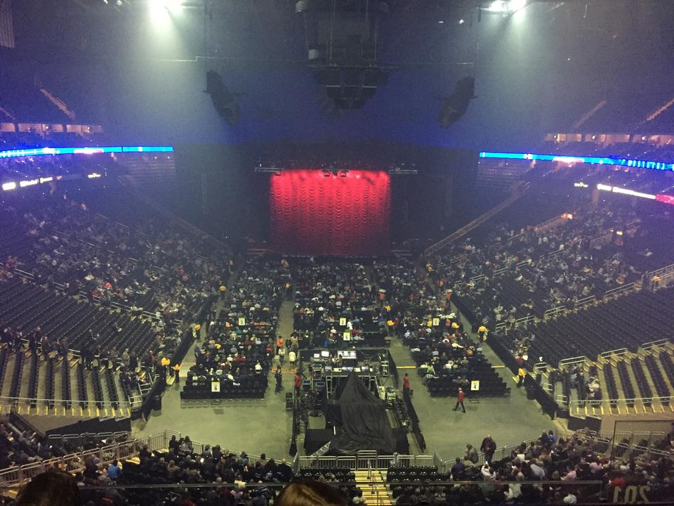 Sprint Center Section 201 Concert Seating