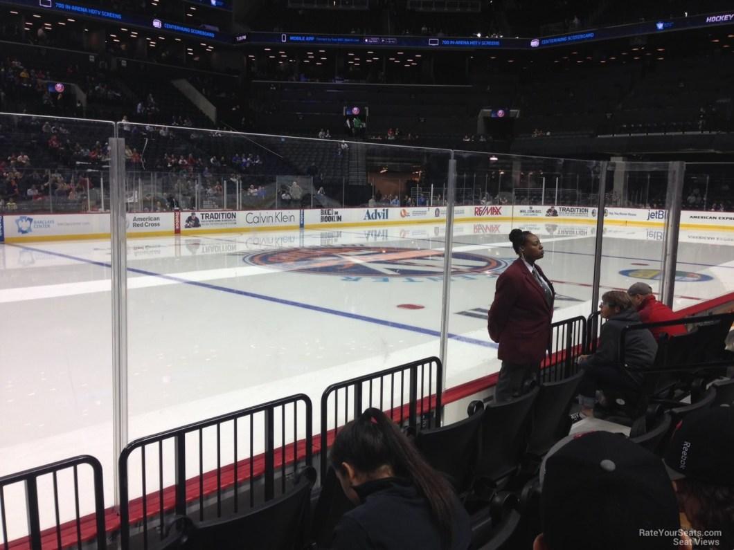 Barclays Center Hockey Seating Views Barclays Center