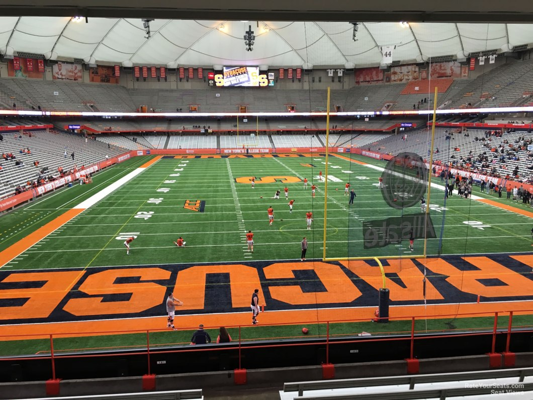 Carrier Dome Basketball Seating View Wallseat Co