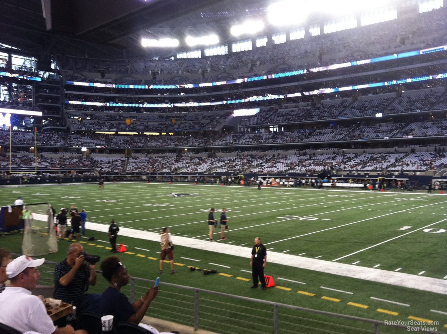 At Amp T Stadium Section 129 Dallas Cowboys Rateyourseats Com