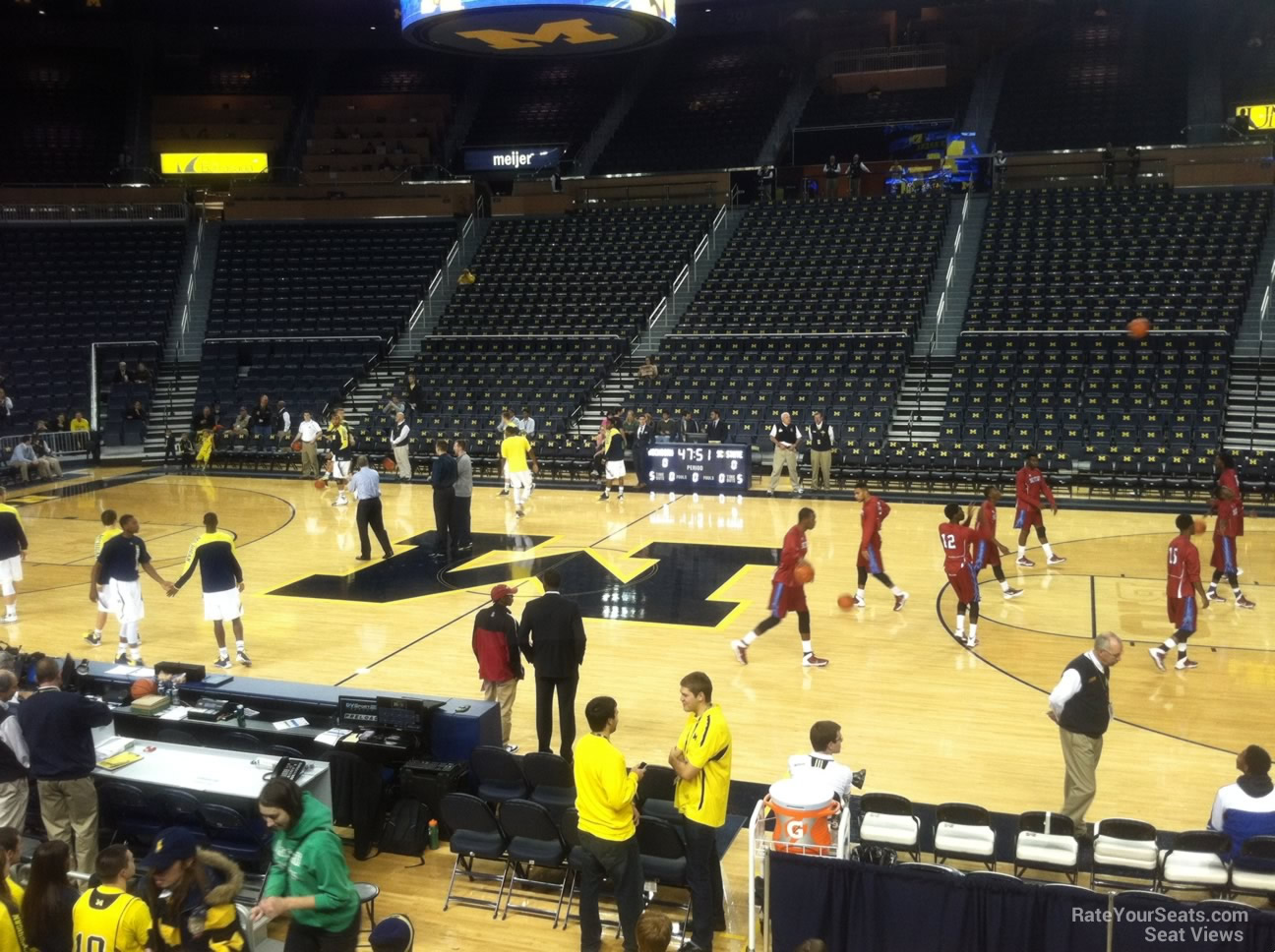 Crisler Center Section 122 Rateyourseats Com