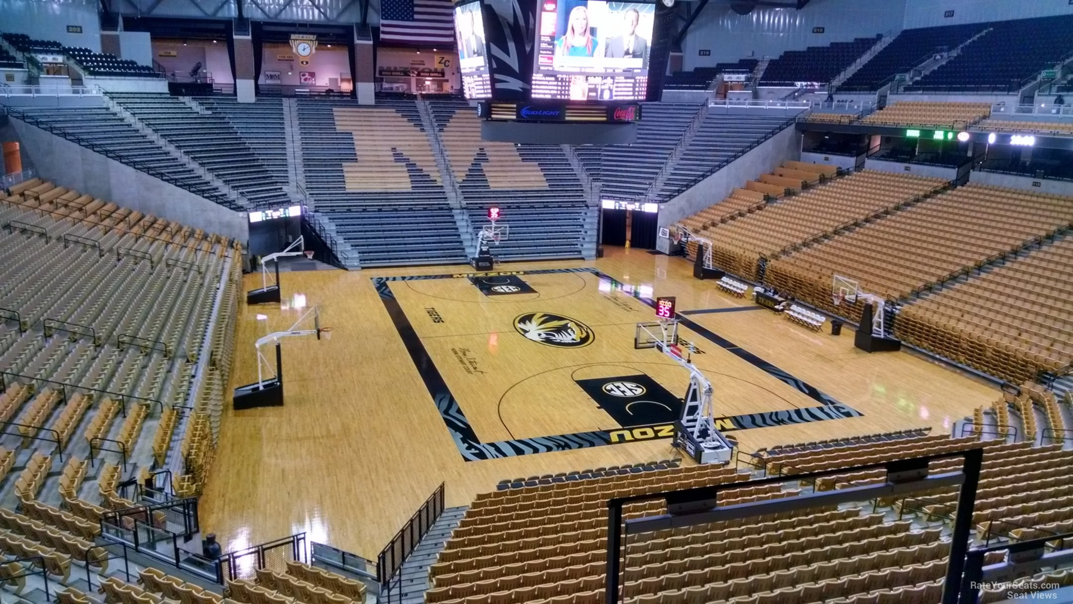Mizzou Arena Seating Chart With Rows Brokeasshome Com