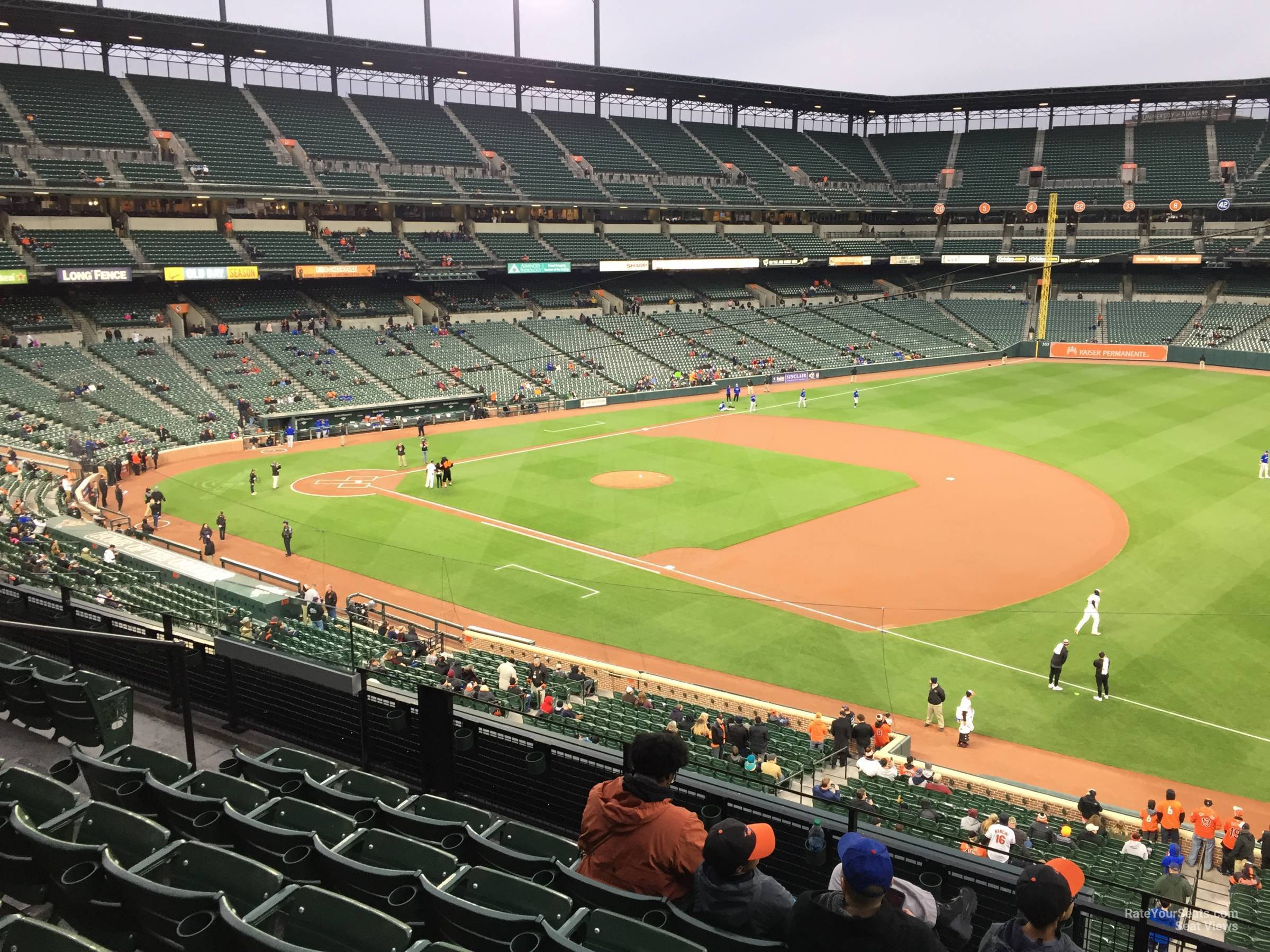 Camden Yards Seating Chart With Row Numbers Cabinets