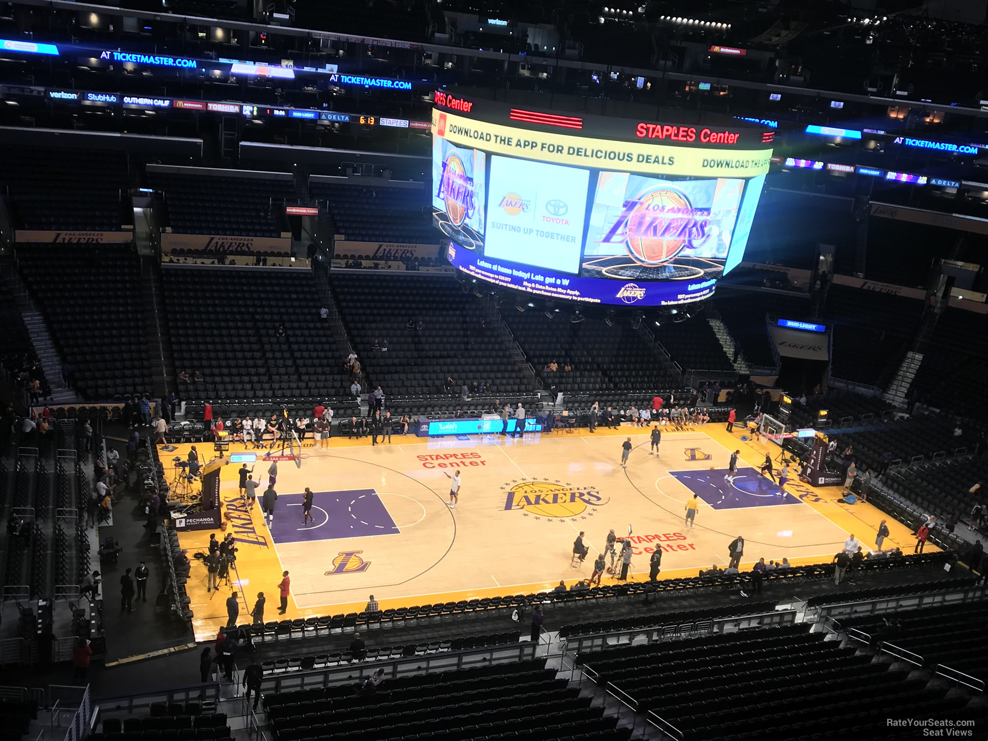 Los Angeles Clippers Seating