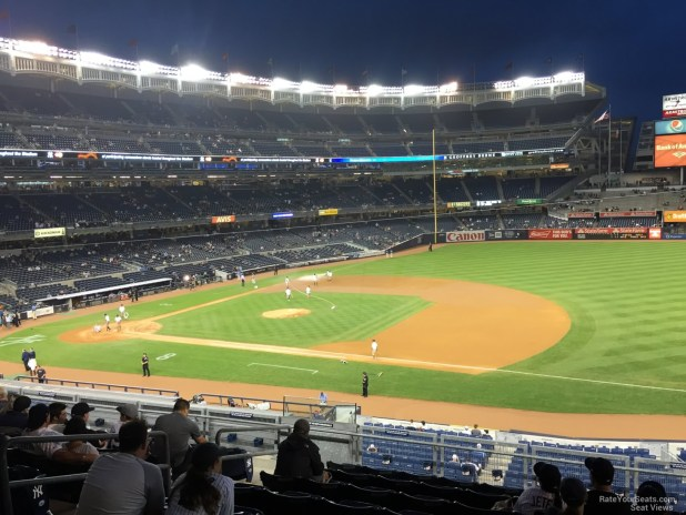 New York Yankees Seat View For Yankee Stadium Section 214a
