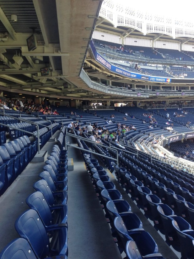 The 200 Level Is One Of He Best Places To Find Covered Seating At Yankee Stadium In Most Sections Rows 12 And Above Are