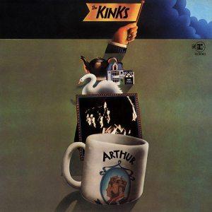 Arthur album: front cover for ARTHUR LP album on Reprise from America.