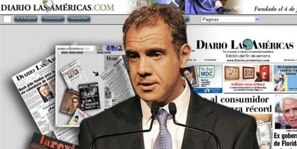 Daniel Hadad habría comprado El diario de Las Américas, en Miami