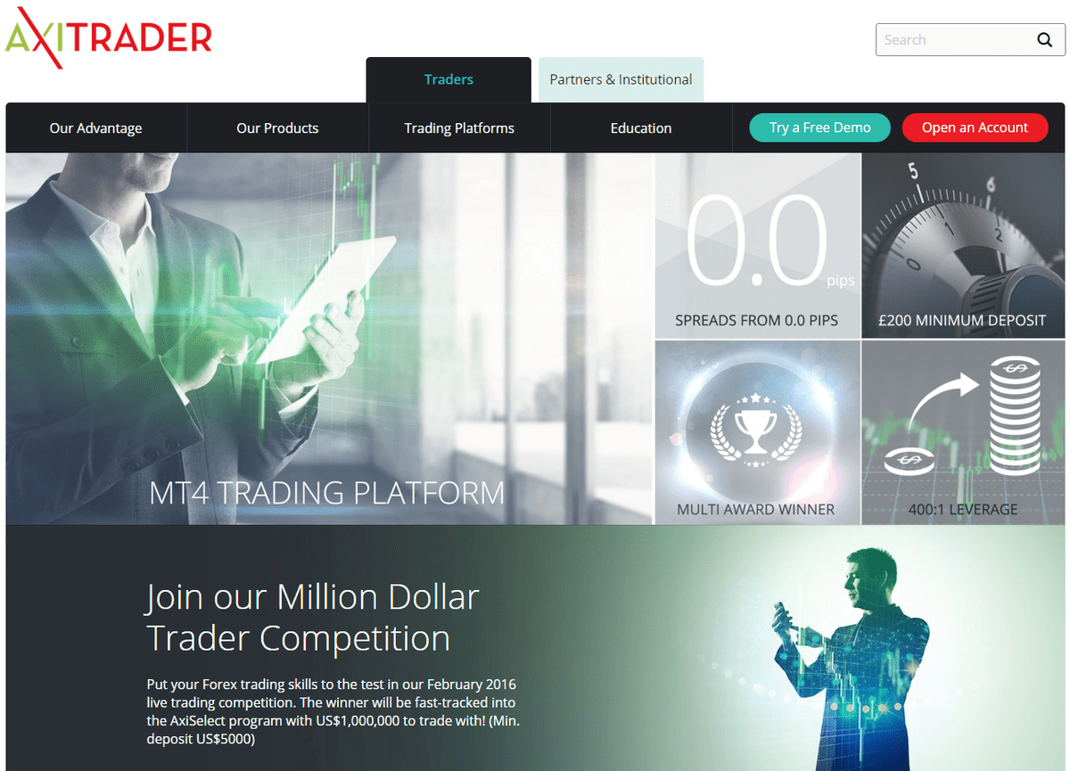 Website Axitrader