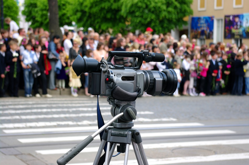 a professional digital video camera