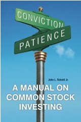 A Manual on Common Stock Investing