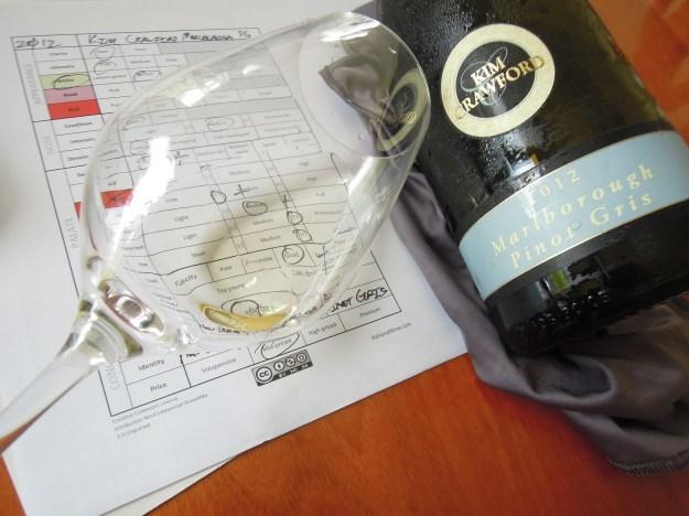 Kim Crawford Marlborough Pinot Gris 2012 01