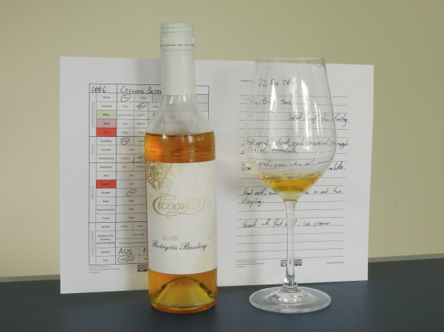 Ciccone Botrytis Riesling 2006