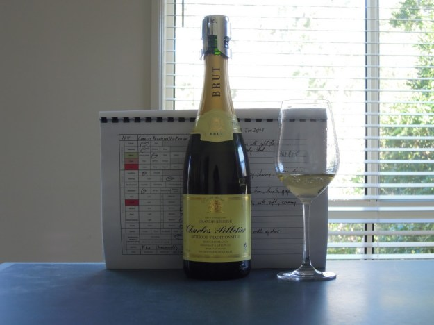 Charles Pelletier Vin Mousseux Blanc Brut NV