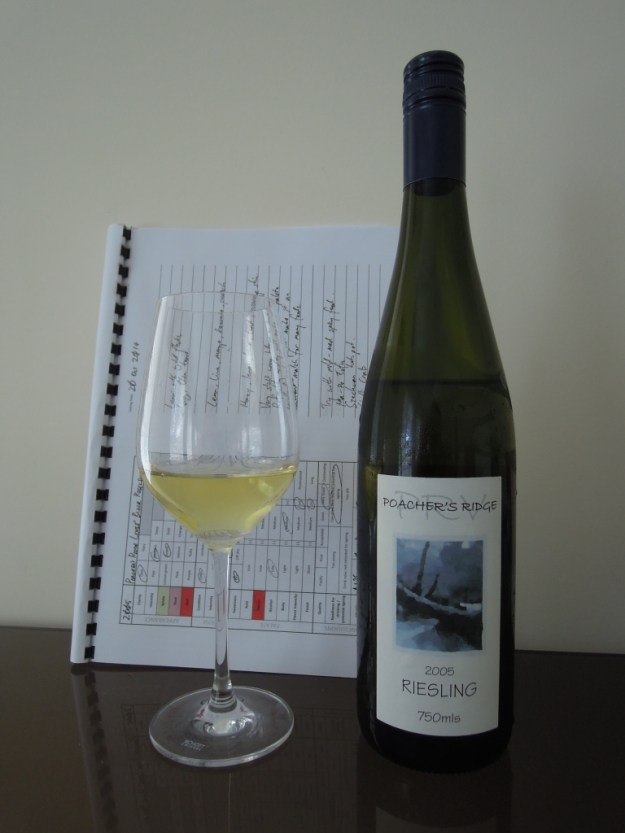 Poacher's Ridge Louis' Block Riesling 2005