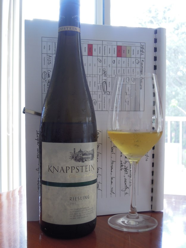 Knappstein Hand Picked Riesling 2002