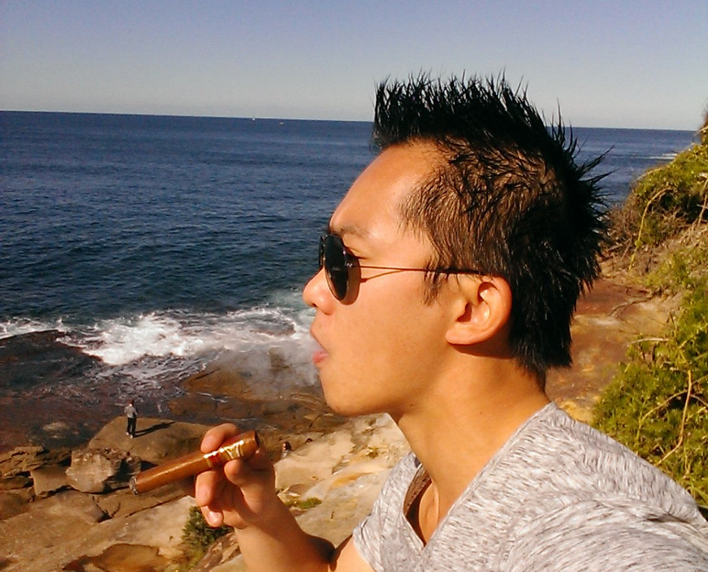 Cigar On The Cliffs, May 2015