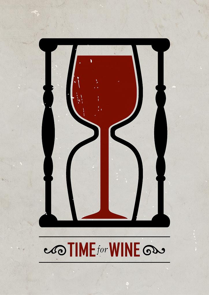 Wine Hourglass