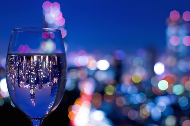 Wine Glass City Invert