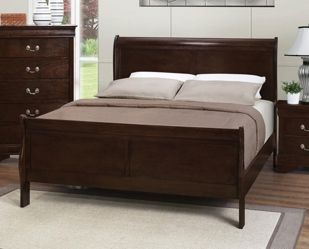 Full Size Headboard And Footboard Sets Rustic Solid Wood