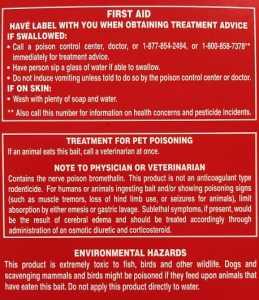 Rat Poison Ingredients