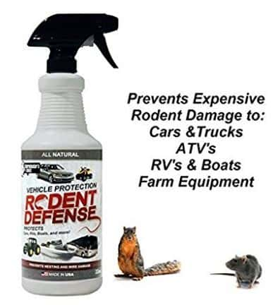 Rodent Defense for Vehicles