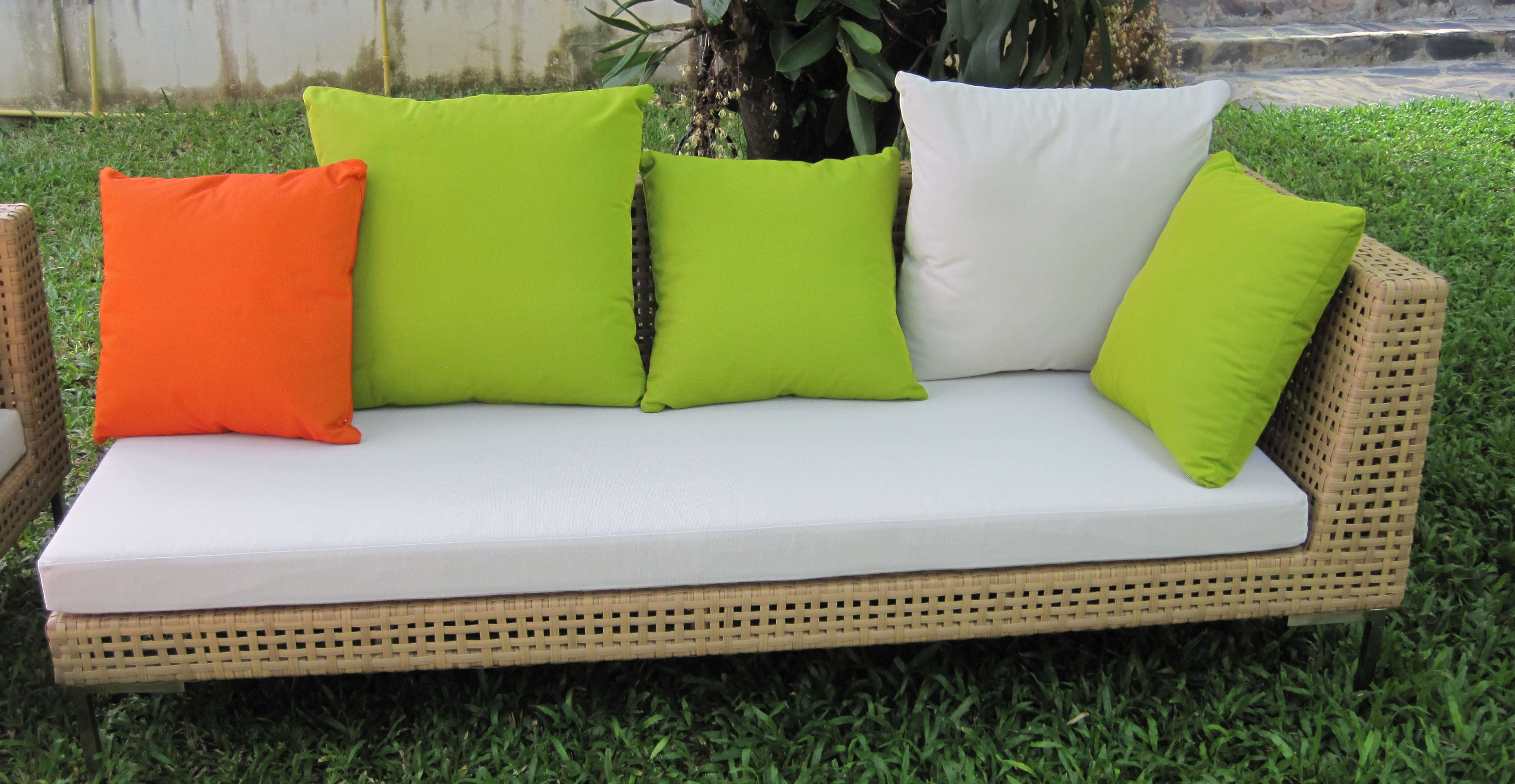 Thailand Outdoor Rattan wicker Daybed DA 3C0003   Rattan4ever     Thailand Outdoor Rattan wicker Daybed DA 3C0003