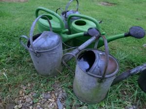 Water hanging baskets