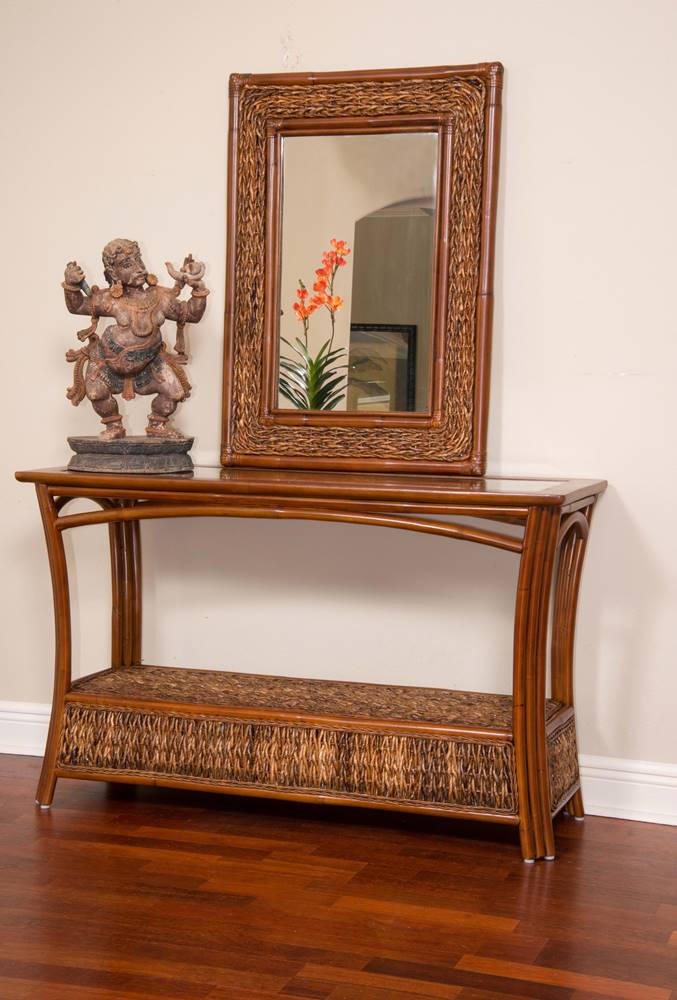 Panama Sofa Table With Glass Alexander Amp Sheridan