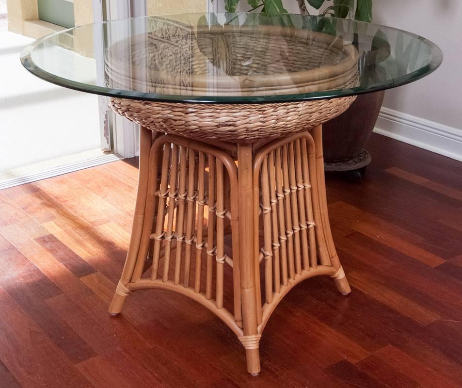 Havana Round Table Base Antique Honey Finish Alexander Amp Sheridan Casual Furniture Wholesale
